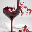 Royalty-Free Stock Photo: Pouring red wine