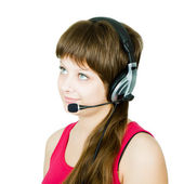 Employee hotline — Stock Photo