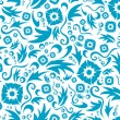 Seamless flower pattern - Stock Vector