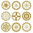 Set of gears — Stock Vector