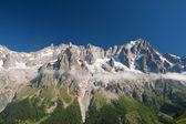 Grandes Jorasses - mont Blanc — Stock Photo