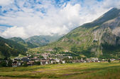 La Thuile, Aosta valley — Stock Photo