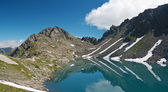 Pietra Rossa Lake, Italian Alps — Stock Photo