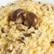 Royalty-Free Stock Photo: Risotto with mushrooms closeup