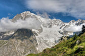 Mont Blanc - Monte Bianco hdr — Stock Photo