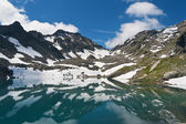 Pietra Rossa Lake, Italy — Stock Photo