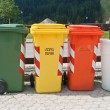 Trash bins — Foto Stock