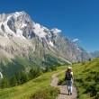 Hiking in Ferret Valley - Stock Photo