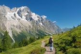 Hiking in Ferret Valley — Stock Photo