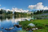 Arpy lake, Aosta Valley — Stock Photo