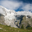 Stock Photo: Mont Blanc - monte Bianco
