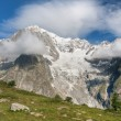 Mont Blanc - monte Bianco — Stock Photo
