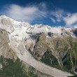 Mont Blanc massif — Stock Photo