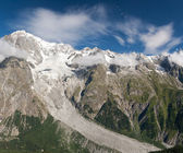 Mont-blanc-massiv — Stockfoto