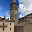 Church in Cogne, Italy — Foto Stock