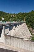 Dam lake — Stockfoto