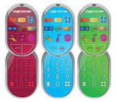 Modern mobile phone — Stock Vector