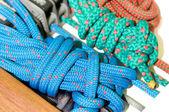 Gekleurde kabels — Stockfoto