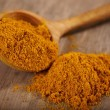 Powdered curry - Stock Photo