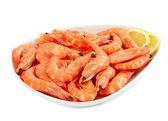Fresh raw prawn — Stock Photo