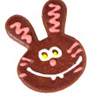 Gingerbread bunny — Stock Photo