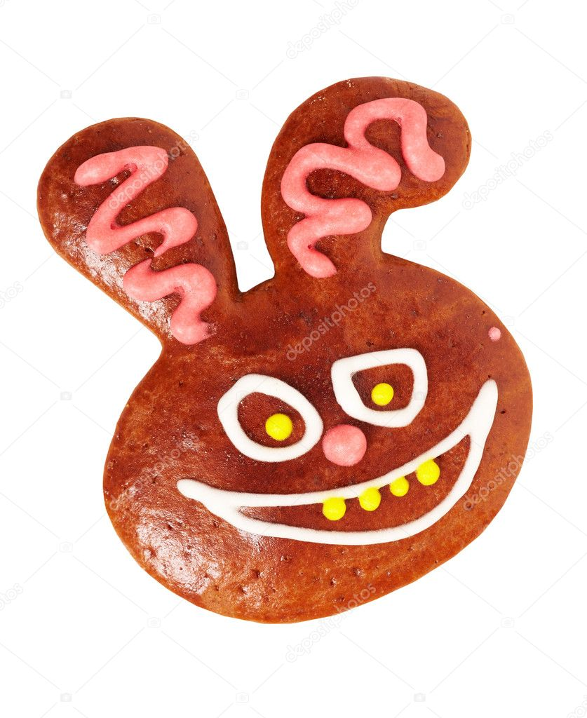 Gingerbread bunny — Stock Photo #4583333