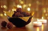 Chocolate truffles — Stok fotoğraf