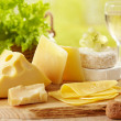 Various types of cheese — Stock Photo #4992949