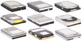 Hard drives — Stock Photo