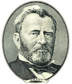 Ulysses S. Grant portrait cutout — Stock Photo