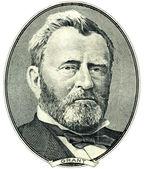 Ulysses S. Grant portrait cutout — Stock Photo