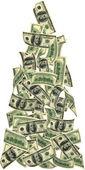 Dinero volando — Foto de Stock