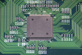 Computer chip — Stock Photo