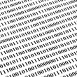 Binary code background — Stock Photo