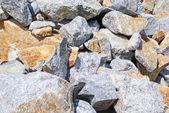 Heap of granite stones — Stock Photo