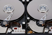 Due hdd — Foto Stock