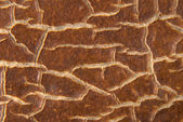 Cracky old brown textures. — Stock Photo