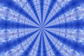 Abstract fractal blue backgraund — Stockfoto