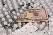 One banknotes on 50 dollars — Stock Photo