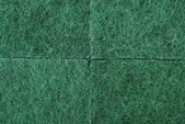 Зеленый текстуры целлюлозы пены Губка — Стоковое фото