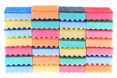 Colored sponges — Stock Photo