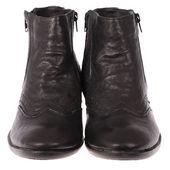 Classic black shoes — Stock Photo