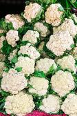 Cauliflower in the market — Stock Photo