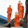 Stock Photo: Buddhism monks