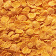 Corn-flakes background — Stock Photo