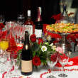 Party table — Stock Photo #4269875