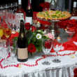 Stock Photo: Party table