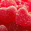 Royalty-Free Stock Photo: Red fruit candy in the form of the heart