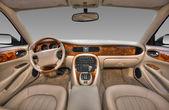 View of the interior of a modern automobile — Foto de Stock