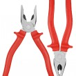 Flat-nose pliers — Stock Photo